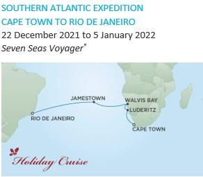 Regent Seven Seas Cruises Cape Town to Rio