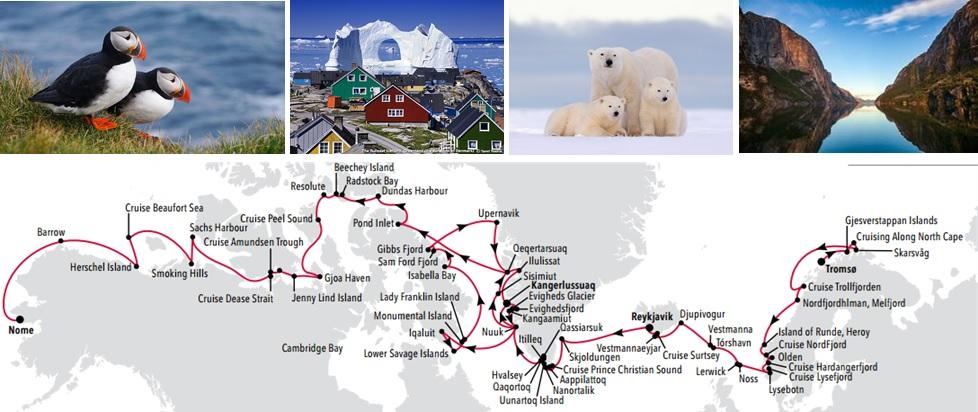 Silversea Arctic Grand Voyage