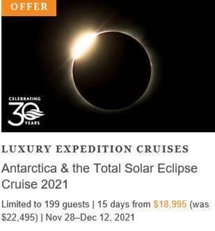 Antarctica & the Total Solar Eclipse