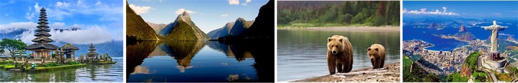 Regent Seven Seas Cruises Bali, New Zealand, Alaska, Bears, Rio