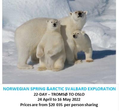 Inaugural Norwegian Spring & Arctic