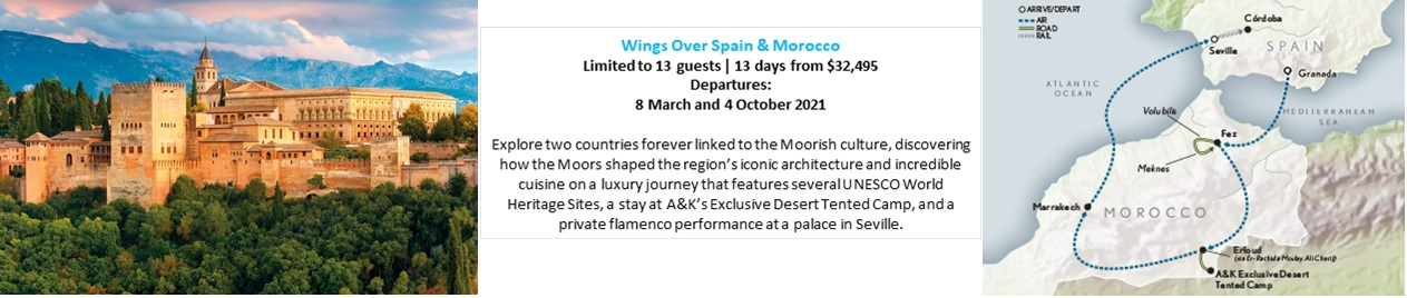Wings Over Spain & Morocco