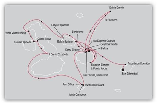 SILVERSEA MAP