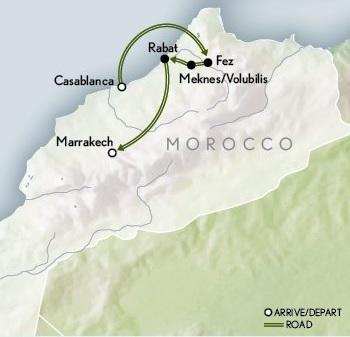 morocco - map 3