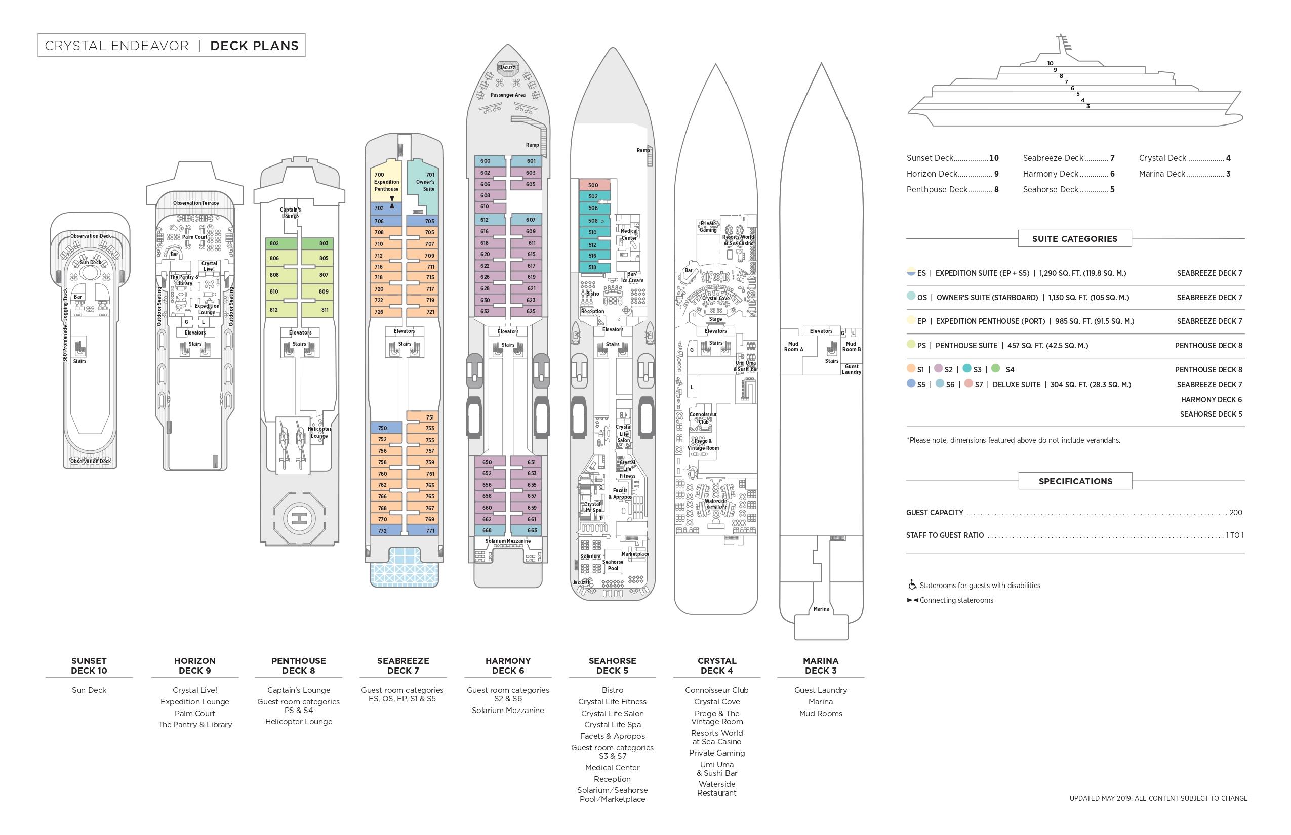 Endeavor - Deck Plan & Suite Descriptions_page-0001