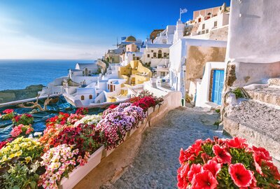 Santorini, Greece Oia Houses